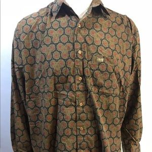 Vintage 70s Guess Shirt Mens XL George Marciano